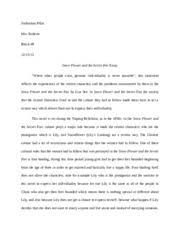 reflective statements tartuffe reflective statements  3 pages snow flower and the secret fan essay