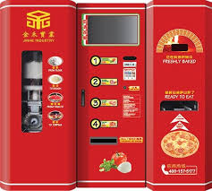 Pizza Vending Machine For Sale Inspiration Fullyauto Pizza Vending Machine Hot Food For Saleid48