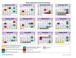 School Calendar 2015 16 Printable School Calendar Templates Free Printable