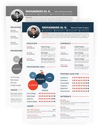 30 free beautiful resume templates to download hongkiat creative resume templates download free