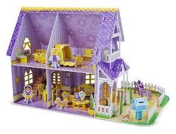 Купить 3D-<b>пазл Melissa & Doug</b> Домик для куклы (9461), 100 дет ...