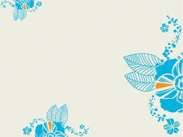 Powerpoint Packgrounds Turquoise Flower Powerpoint Templates Blue Flowers Free Ppt