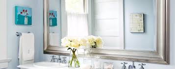 How To Design A Beautiful Blue Bathroom Better Homes And Gardens - Better homes bathrooms