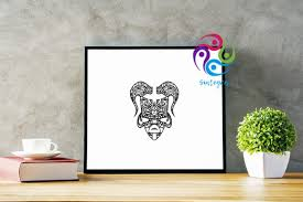 Comes in multiple formats suitable for screen and print African Tribal Mask Svg File Graphic By Sintegra Creative Fabrica