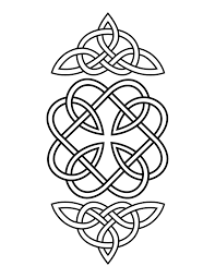 Celtic Coloring Pages Celtic Knotwork Colouring