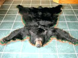 faux bear skin rug with head bear skin blanket real bear skin rugs black bear rugs faux bear skin rug with head