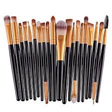 bestim incuk 20 piece makeup brushes makeup brush set cosmetics foundation blending blush eyeliner concealer