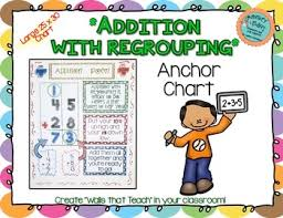 Addition With Regrouping Anchor Chart Large 25 X 30 Inch