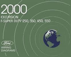 2000 ford excursion f super duty f250 f550 wiring diagrams 2006 ford super duty wiring diagram image is loading 2000 ford excursion f super duty f250 f550
