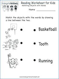 Free printable kindergarten literacy worksheets | Download them or print