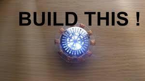 Iron Man Chest Light Diy Build Your Own Iron Man Arc Reactor