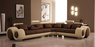 brown leather sectional sofas. Unique Brown Amazoncom 4087  Bonded Leather Sectional Sofa With Recliners Kitchen U0026  Dining And Brown Sofas