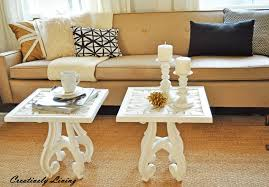 Old Coffee Table Makeovers Sofa Tablesthe Makeover Creatively Living Blog