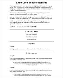 Preschool Teacher Resume Teacher Resume Template Preschool Teacher