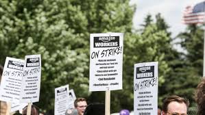 Employee Of The Month Write Ups Amazon Warehouse Workers Strike On Prime Day To Protest