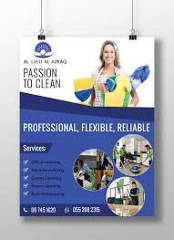 Commercial Cleaning Flyers