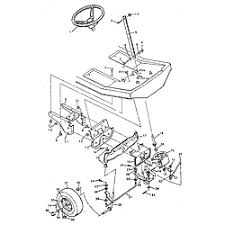 murray murray riding mower parts model 930502 sears partsdirect steering