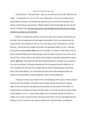 eng narrative essay experiences shape relationships it was a 2 pages eng103 lord of the flies paper