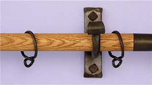 fine decoration wooden curtain rod plush design ideas wood projects