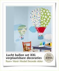 Luchtballonnen Super Grote Kinderkamer Muurstickers Babykamer