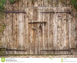 hinged barn doors. Old Weathered Barn Door Hinged Doors