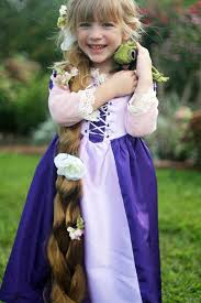 diy rapunzel dress tutorial