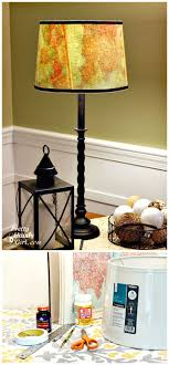 15 Unique Diy Lamp Ideas To Light Up Your Home Creatively Diy Crafts