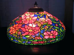 tiffany style lamp shades table lamps shade only antique hanging stained glass