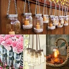 Decorating Ideas For Glass Jars Awesome Diy Mason Jar Ideas You Could Use Green Dried Split Peas 8