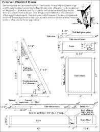 bluebird house plans. ashley s acres plans to build a peterson bluebird house i