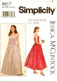 Simplicity Prom Dress Patterns