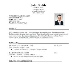 How To Make A Resume For Job Application Resume Format For Applying