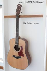 diy guitar hanger
