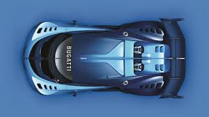 bugatti top view. bugatti vision gran turismo top view unveiled s