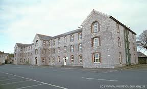 to the rear was an infirmary block originally of two ys but with a third y added later possibly in 1898 when 4 000 is recorded as having been