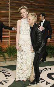 Ellen And Portia Ellen Degeneres Portia De Rossi Divorce Off Baby Rumors