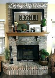 images fireplace mantels decorated mantel decor ideas decorating with home decoration for