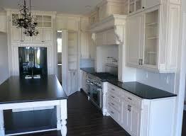 modern black and white kitchen pantry