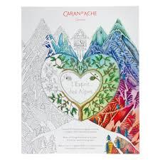 L Esprit Des Alpes Colouring Book Fred Aldous