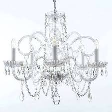 chandelier plugs into wall plug in crystal chandeliers lighting