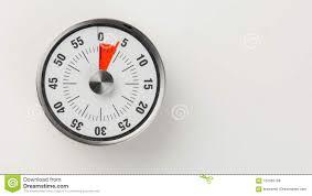 Timer 4 Min Vintage Analog Kitchen Countdown Timer 4 Minutes Remaining