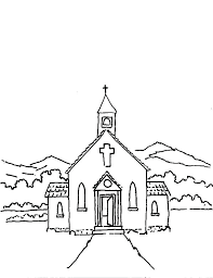 Church Coloring Pages To Print 2 A Free Printable Religious Sheets