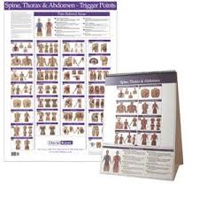 Free Trigger Point Chart Trigger Point Chart Torso And Spine