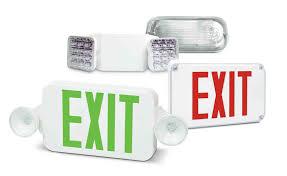emergency lighting exit