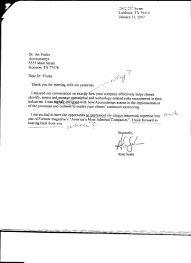 Thank You Letter Alan Seale S Blog