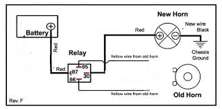 horn relay wiring diagram schematics and wiring diagrams horn relay wiring diagram also here is the i for