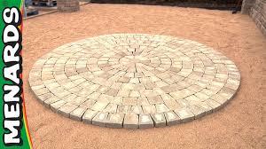 Circular Paving Patterns Magnificent Decorating