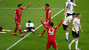 Maybe you would like to learn more about one of these? Fc Bayern Gladbach 6 0 Lewandowski Fehlt Nur Ein Tor Zu Mullers Tor Rekord Focus Online