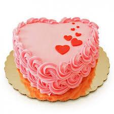 Heart Shape Birthday Cake I Durgapur Online Cake Delivery Shop