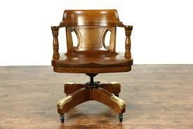 vintage oak swivel desk chair um size of desk swivel desk chair mission style solid vintage wood white vintage solid oak desk chair